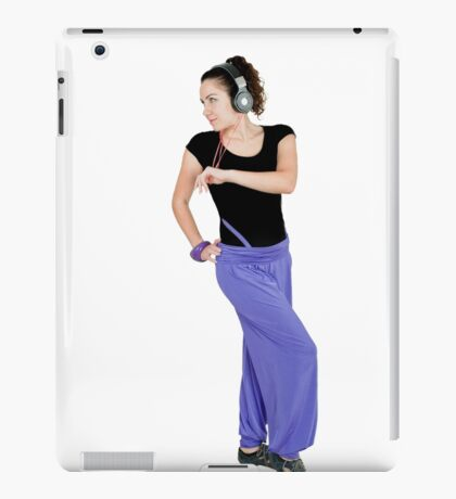 Girl dance and sports iPad Case/Skin