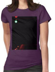 Red light, green light, 1,2,3 Womens Fitted T-Shirt