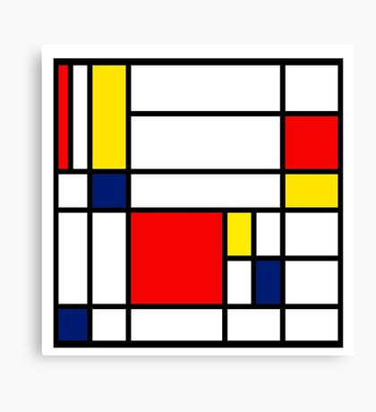 Mondrian Composition Canvas Print