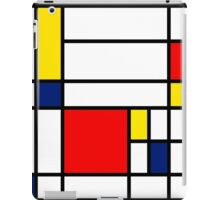 Mondrian Composition iPad Case/Skin