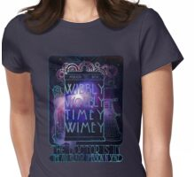 art nouveau in space Womens Fitted T-Shirt