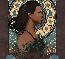 Martha art nouveau  by koroa