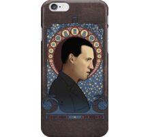 9th doctor art nouveau iPhone Case/Skin