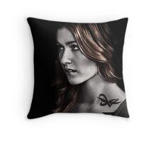 Clary Fray S2 Throw Pillow