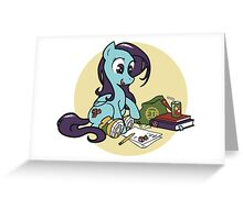 Boots The Pegasus Greeting Card