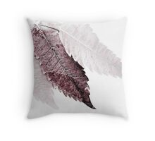finding center Throw Pillow
