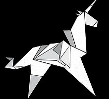 Origami Unicorn  by Nairal