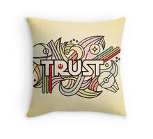 Trust the Force Throw Pillow