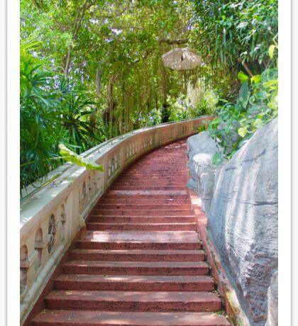 Stairway {Color} Sticker