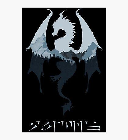 Dragon - Skyrim Photographic Print
