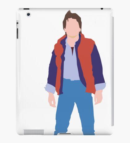 Minimalistic Marty McFly  iPad Case/Skin
