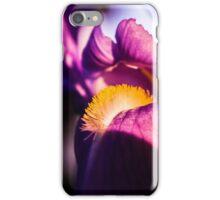 Violet flower closeup iPhone Case/Skin