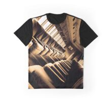 Sitting the Old Fashioned Way Graphic T-Shirt