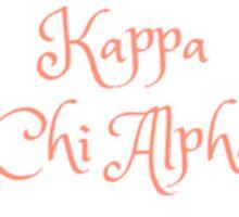 Kappa Chi Alpha, Wreath Sticker
