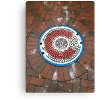 Wrigleyville Sewer Cap Canvas Print