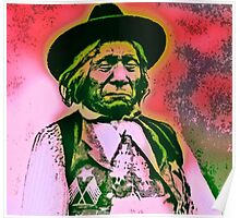CHIEF RED CLOUD-OGLALA LAKOTA SIOUX 3 Poster