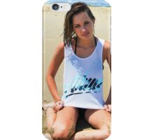 Model Picture 2 iPhone Case/Skin