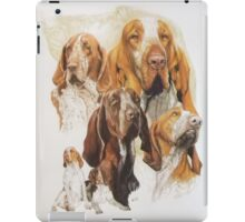 Bracco Italiano /Ghost iPad Case/Skin