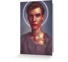 light Gabriel Greeting Card