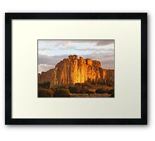El Morro National Monument, NM Framed Print