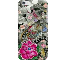 Samurai and Dragon iPhone Case/Skin