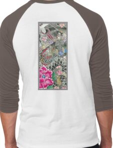 Samurai and Dragon Men's Baseball ¾ T-Shirt