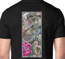 Samurai and Dragon Unisex T-Shirt