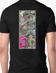 Samurai and Dragon Unisex T-Shirt