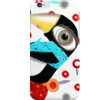 Bed of Roses Happy Penguin iPhone Case/Skin