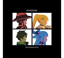 KonoSuba: Boukensha Days Photographic Print