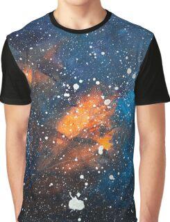 Stars Painting by Ottavio Fabbri Graphic T-Shirt