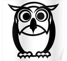 Owly Owl Poster