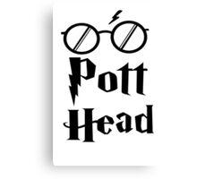Pott Head Expecto Patronum Canvas Print