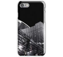 las vegas | outside the aria [b&w] iPhone Case/Skin