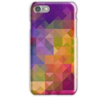 Bright Colorful Geometric Abstract iPhone Case/Skin