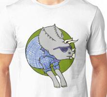 Hipstersaur - Tricerahops Unisex T-Shirt