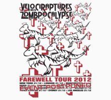 Velociraptures of the Zombpocalypse EVENT POSTPONED One Piece - Short Sleeve