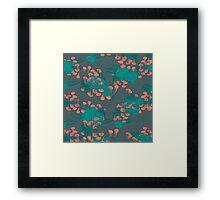 Medusa / Crazy Jellyfish Blue Atoll Framed Print