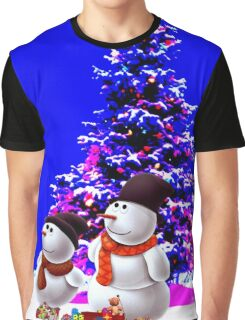 christmast tree and olaf Graphic T-Shirt
