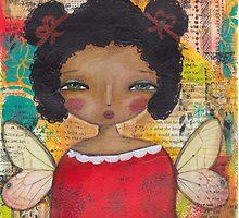 Dark spring fairy by MonicaMota