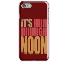 McCree - It's High Noon iPhone Case/Skin