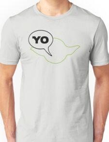 Star Wars Yoda Yo Parody  Unisex T-Shirt