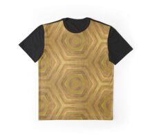 Golden - Cooper Geometric Abstract Graphic T-Shirt
