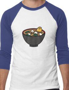 Gudetama Soup Bath Men's Baseball ¾ T-Shirt