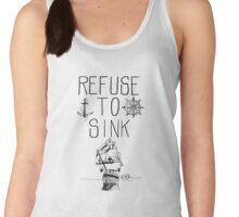 Refuse To Sink Women's Tank Top