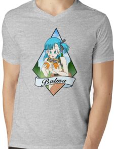 Bulma Mens V-Neck T-Shirt