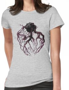 Anatomical Heart Veins Womens Fitted T-Shirt