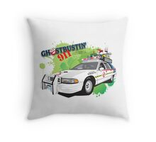 Ghostbustin' 911 Throw Pillow