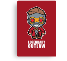 Legendary Outlaw Canvas Print