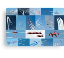 Red Arrows 2014 - 50 Display Seasons Canvas Print